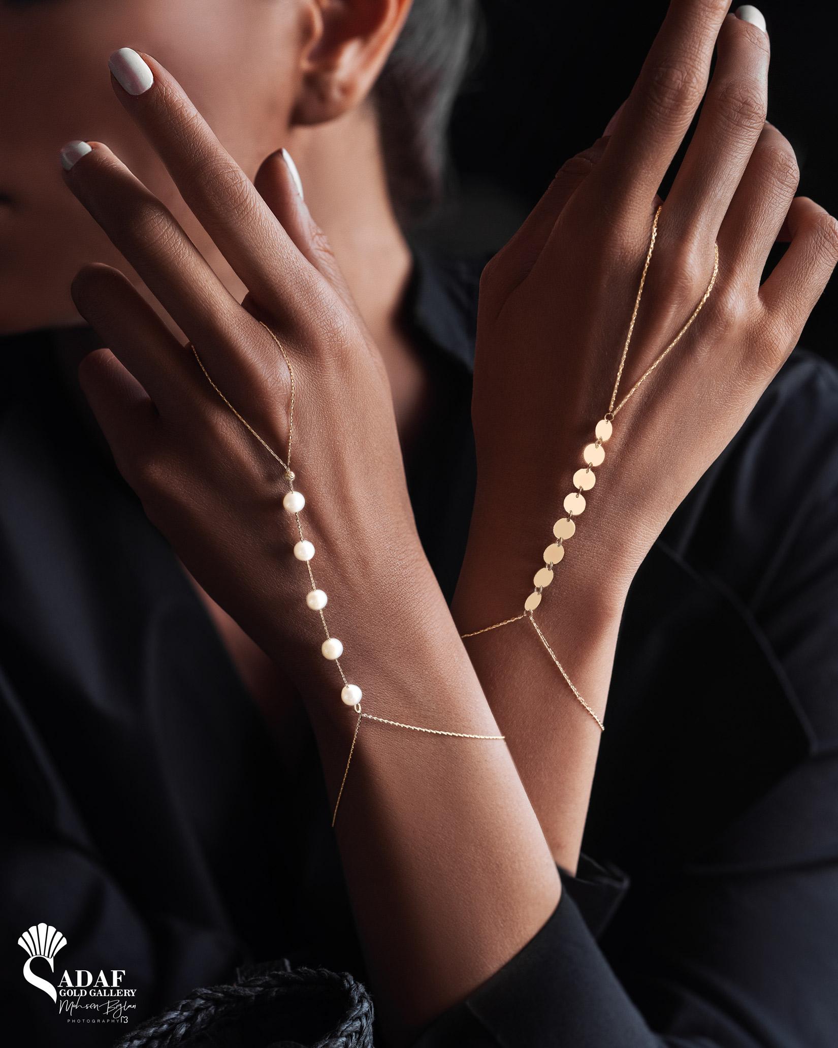 دستبند تمیمه عربی پولکی